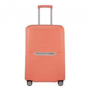 Samsonite Magnum Spinner 69 coral pink Harde Koffer