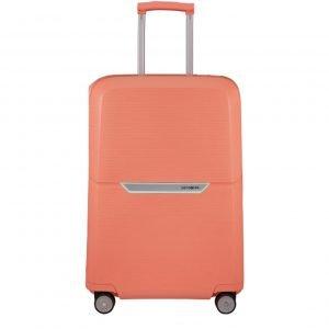 Samsonite Magnum Spinner 75 coral pink Harde Koffer