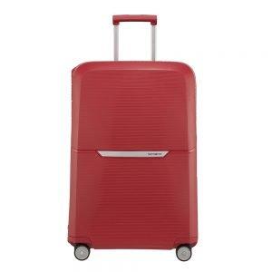 Samsonite Magnum Spinner 75 rust red Harde Koffer