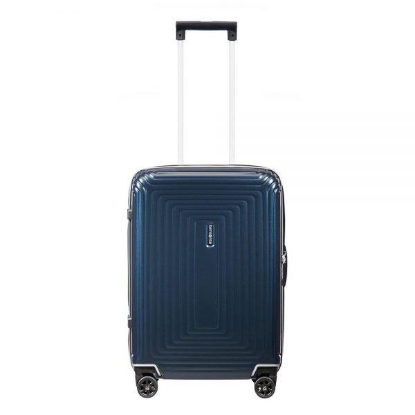 Samsonite Neopulse DLX Spinner 55 matte midnight blue Harde Koffer