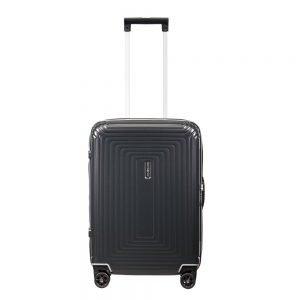 Samsonite Neopulse DLX Spinner 55 width 23cm matte titanium Harde Koffer