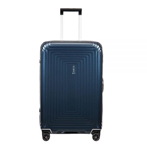 Samsonite Neopulse DLX Spinner 69 matte midnight blue Harde Koffer