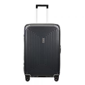 Samsonite Neopulse DLX Spinner 69 matte titanium Harde Koffer