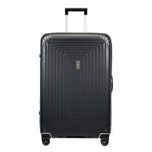 Samsonite Neopulse DLX Spinner 75 matte titanium Harde Koffer