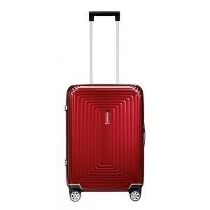 Samsonite Neopulse Spinner 55 metallic red Harde Koffer