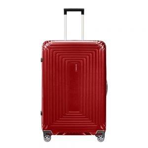 Samsonite Neopulse Spinner 69 metallic red Harde Koffer