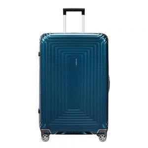 Samsonite Neopulse Spinner 75 metallic blue Harde Koffer