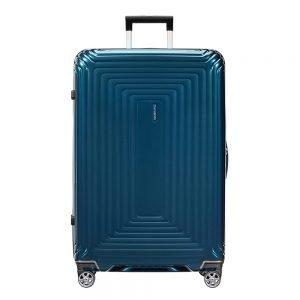 Samsonite Neopulse Spinner 81 metallic blue Harde Koffer