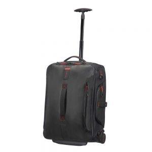 Samsonite Paradiver Light Duffle Wheels Backpack 55 black Handbagage koffer Trolley