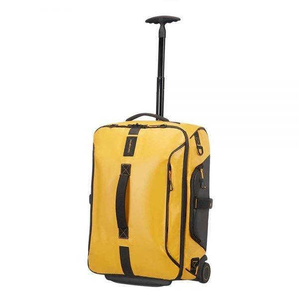 Samsonite Paradiver Light Duffle Wheels Backpack 55 yellow Handbagage koffer Trolley