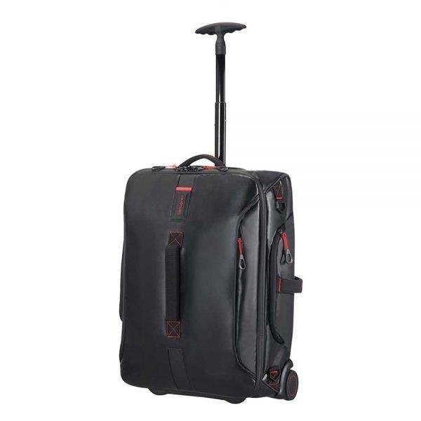 Samsonite Paradiver Light Duffle Wheels Strict Cabin 55 black Handbagage koffer Trolley