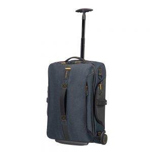 Samsonite Paradiver Light Duffle Wheels Strict Cabin 55 jeans blue Handbagage koffer Trolley