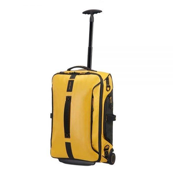 Samsonite Paradiver Light Duffle Wheels Strict Cabin 55 yellow Handbagage koffer Trolley