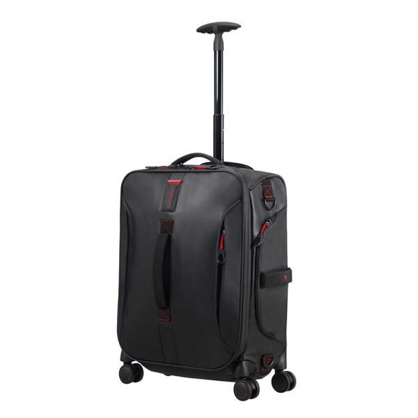 Samsonite Paradiver Light Spinner Duffle 55 black Handbagage koffer Trolley
