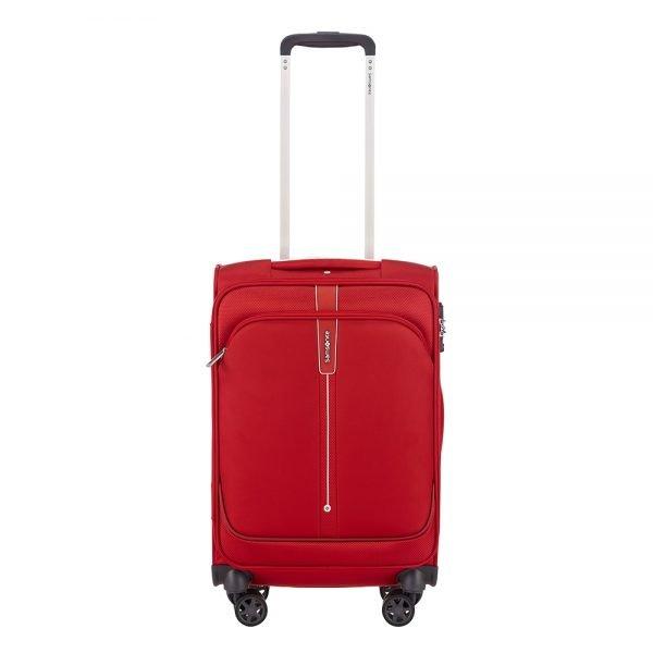 Samsonite Popsoda Spinner 55/35 red Zachte koffer