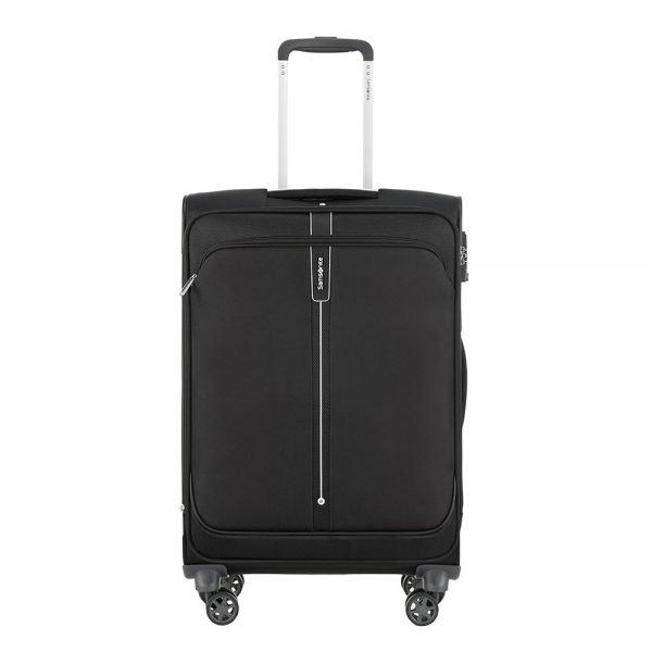 Samsonite Popsoda Spinner 66 Exp black Zachte koffer