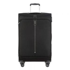 Samsonite Popsoda Spinner 78 Exp black Zachte koffer