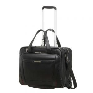 Samsonite Pro-DLX 5 LTH Rolling Tote 15.6'' black Zakelijke koffer