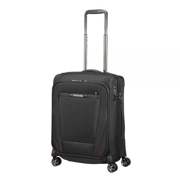 Samsonite Pro-DLX 5 Spinner 55 Expandable black Zachte koffer
