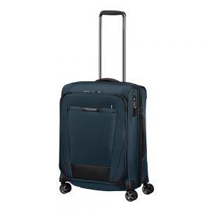 Samsonite Pro-DLX 5 Spinner 55 Expandable oxford blue Zachte koffer