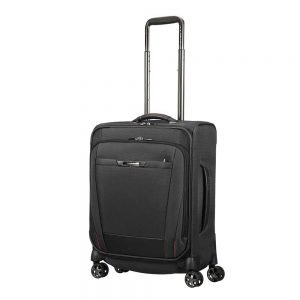 Samsonite Pro-DLX 5 Spinner 55 Strict black Zachte koffer