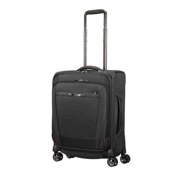 Samsonite Pro-DLX 5 Spinner 55 Strict black Zachte koffer