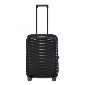 Samsonite Proxis Spinner 55 Expandable black Harde Koffer