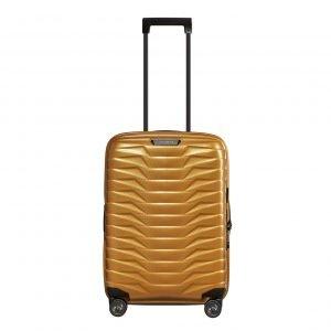 Samsonite Proxis Spinner 55 Expandable honey gold Harde Koffer