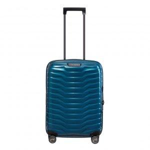 Samsonite Proxis Spinner 55 Expandable petrol blue Harde Koffer
