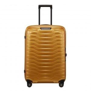 Samsonite Proxis Spinner 69 honey gold Harde Koffer
