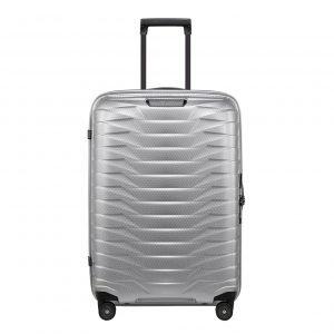 Samsonite Proxis Spinner 69 silver Harde Koffer