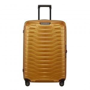 Samsonite Proxis Spinner 75 honey gold Harde Koffer