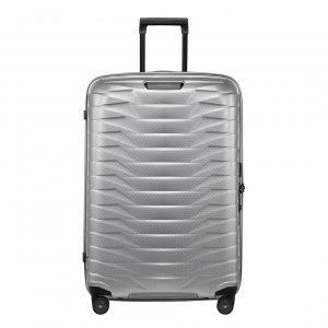 Samsonite Proxis Spinner 75 silver Harde Koffer