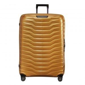 Samsonite Proxis Spinner 81 honey gold Harde Koffer