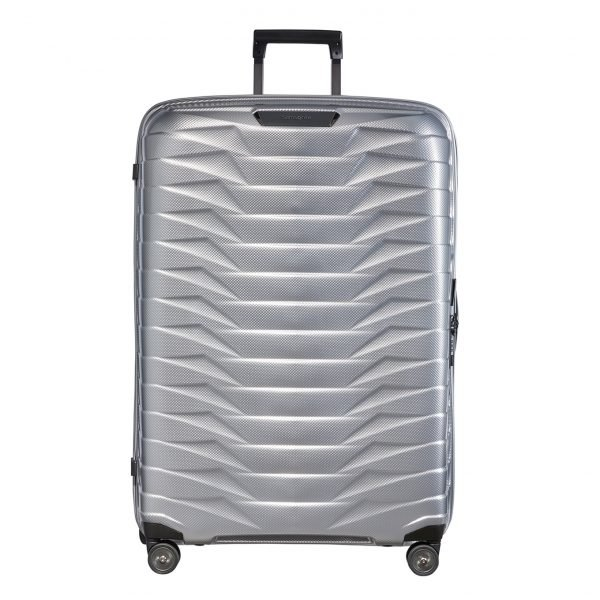 Samsonite Proxis Spinner 81 silver Harde Koffer