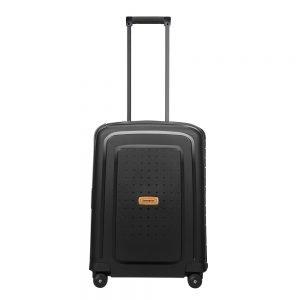 Samsonite S'Cure Eco Spinner 55 eco black Harde Koffer
