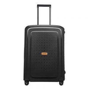 Samsonite S'Cure Eco Spinner 69 eco black Harde Koffer