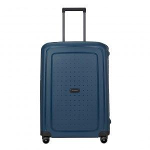 Samsonite S'Cure Eco Spinner 69 navy blue Harde Koffer