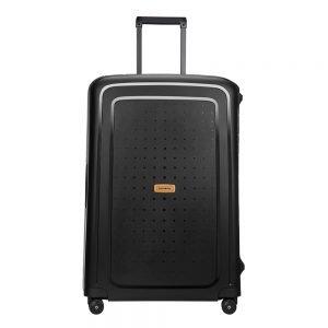 Samsonite S'Cure Eco Spinner 75 eco black Harde Koffer