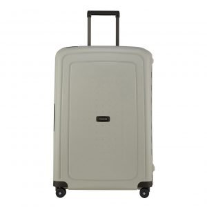 Samsonite S'Cure Eco Spinner 75 green grey Harde Koffer
