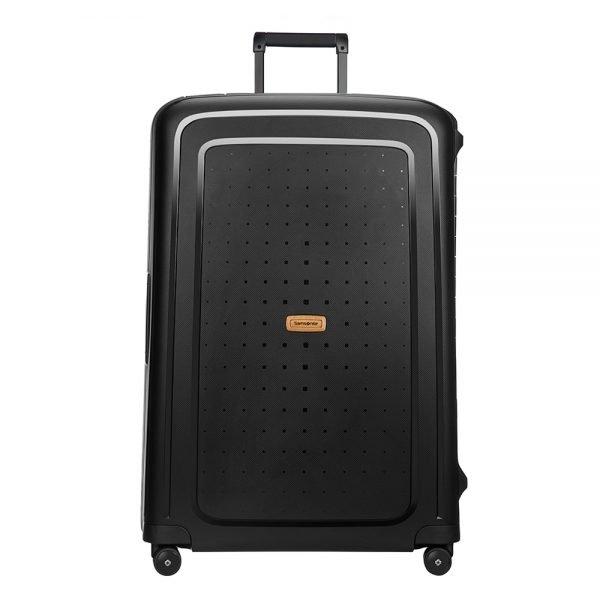 Samsonite S'Cure Eco Spinner 81 eco black Harde Koffer
