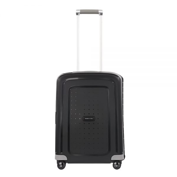 Samsonite S'Cure Spinner 55 black Harde Koffer