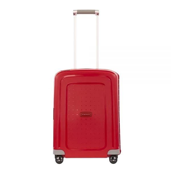 Samsonite S'Cure Spinner 55 crimson red Harde Koffer