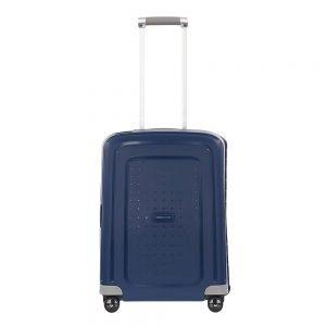 Samsonite S'Cure Spinner 55 dark blue Harde Koffer