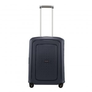 Samsonite S'Cure Spinner 55 navy blue capri Harde Koffer