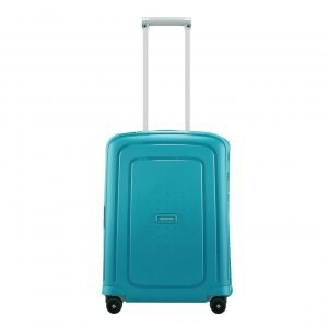 Samsonite S'Cure Spinner 55 petrol blue capri Harde Koffer