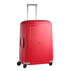 Samsonite S'Cure Spinner 69 crimson red Harde Koffer