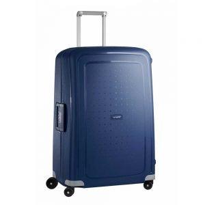 Samsonite S'Cure Spinner 75 dark blue Harde Koffer