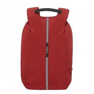 Samsonite Securipak Laptop Backpack 15.6'' garnet red backpack
