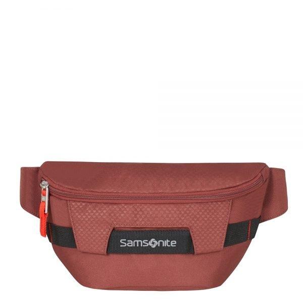 Samsonite Sonora Belt Bag barn red Damestas